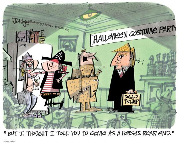 Cartoonist Lee Judge  Lee Judge's Editorial Cartoons 2015-10-29 party