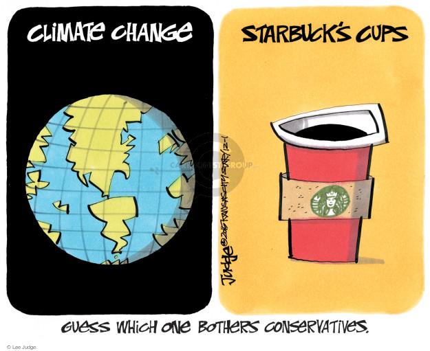 Cartoonist Lee Judge  Lee Judge's Editorial Cartoons 2015-12-01 conservative