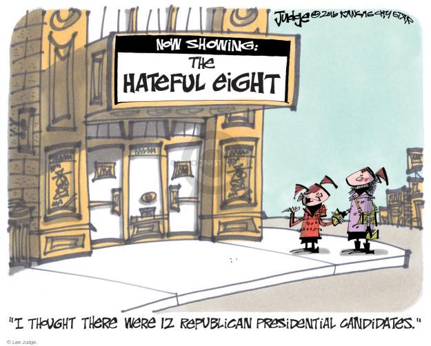 Lee Judge  Lee Judge's Editorial Cartoons 2016-01-05 number