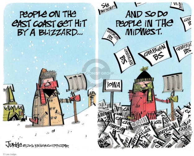 Lee Judge  Lee Judge's Editorial Cartoons 2016-01-27 voter