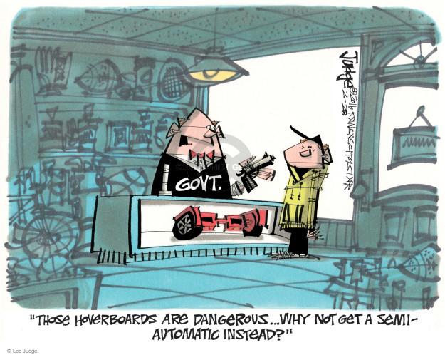 Lee Judge  Lee Judge's Editorial Cartoons 2016-02-28 rifle