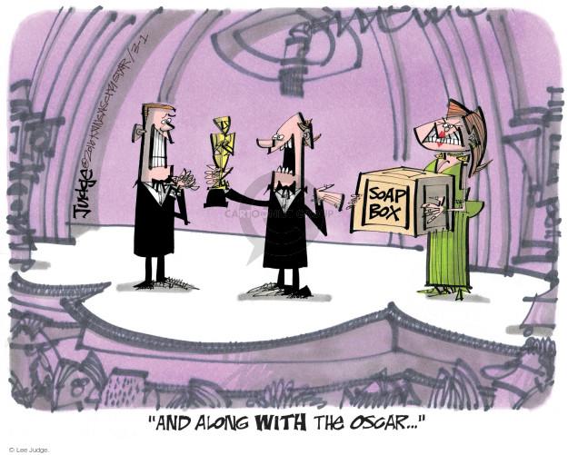 Lee Judge  Lee Judge's Editorial Cartoons 2016-03-01 speak