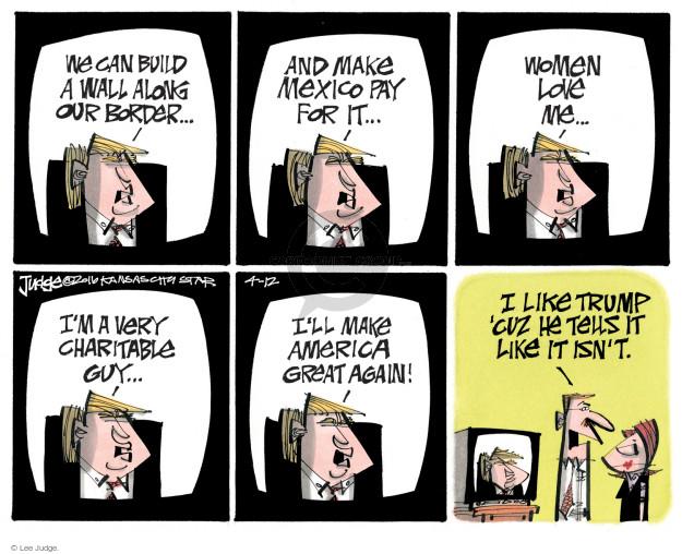 Lee Judge  Lee Judge's Editorial Cartoons 2016-04-12 build