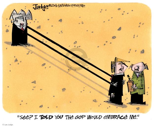 Lee Judge  Lee Judge's Editorial Cartoons 2016-05-18 arms