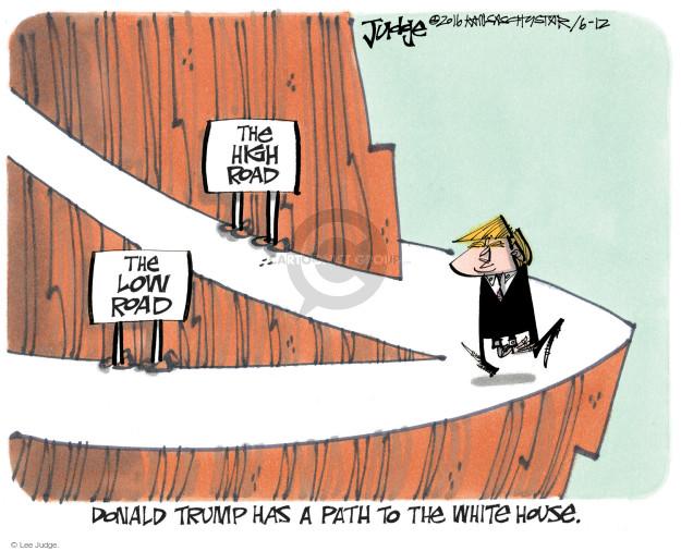 Cartoonist Lee Judge  Lee Judge's Editorial Cartoons 2016-06-12 civil