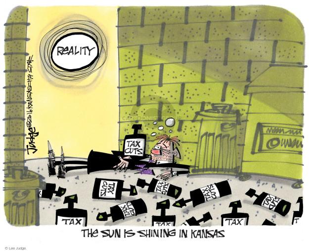 Cartoonist Lee Judge  Lee Judge's Editorial Cartoons 2016-06-24 tax