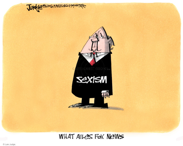 Cartoonist Lee Judge  Lee Judge's Editorial Cartoons 2016-07-23 civil
