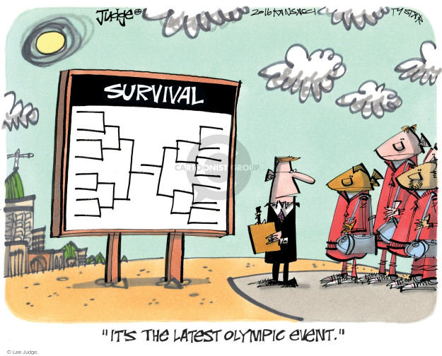 Lee Judge  Lee Judge's Editorial Cartoons 2016-08-07 summer Olympics