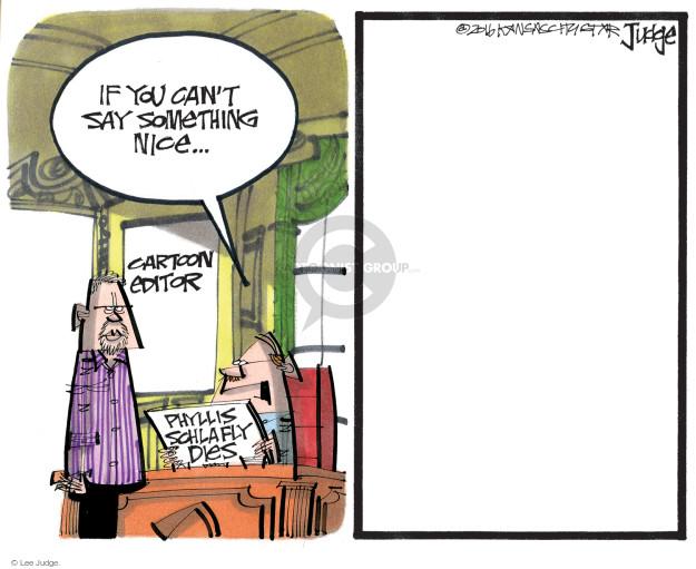 Cartoonist Lee Judge  Lee Judge's Editorial Cartoons 2016-09-07 civil