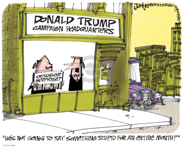 Lee Judge  Lee Judge's Editorial Cartoons 2016-09-09 presidential candidate