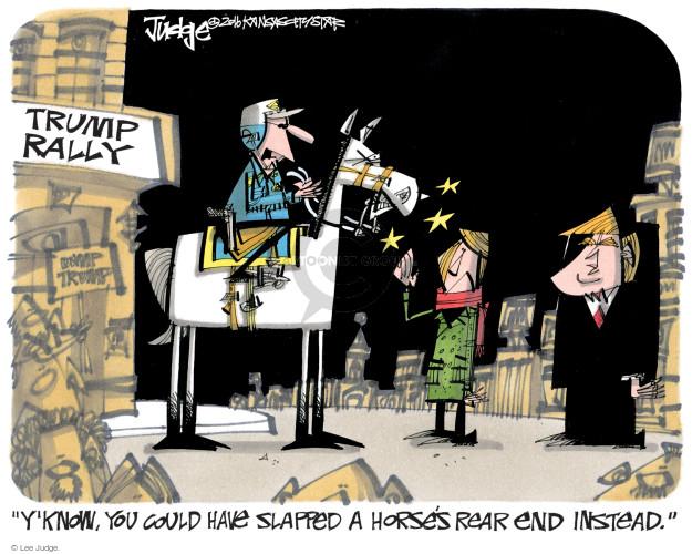 Lee Judge  Lee Judge's Editorial Cartoons 2016-09-23 presidential candidate