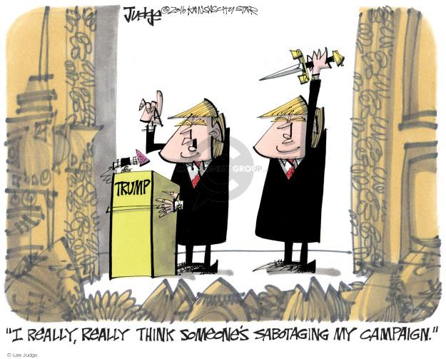 Lee Judge  Lee Judge's Editorial Cartoons 2016-09-29 presidential candidate