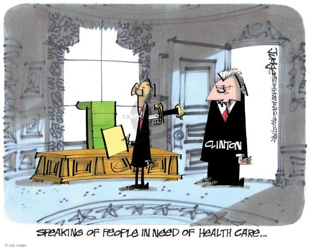 Cartoonist Lee Judge  Lee Judge's Editorial Cartoons 2016-10-06 Barack Obama