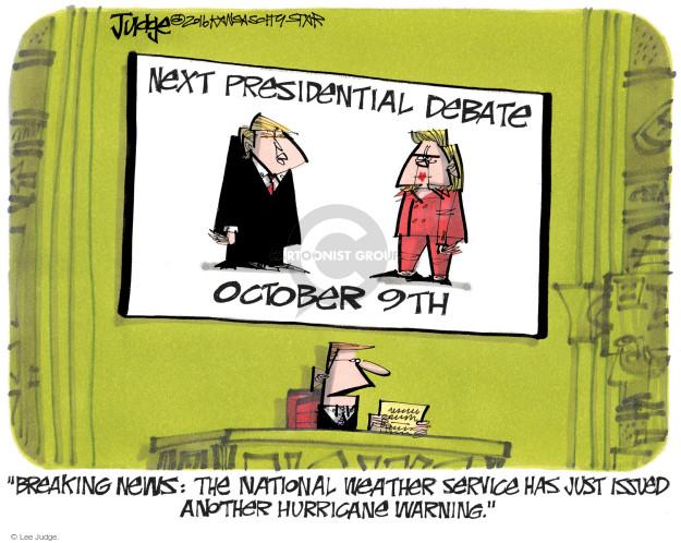 Lee Judge  Lee Judge's Editorial Cartoons 2016-10-07 presidential candidate