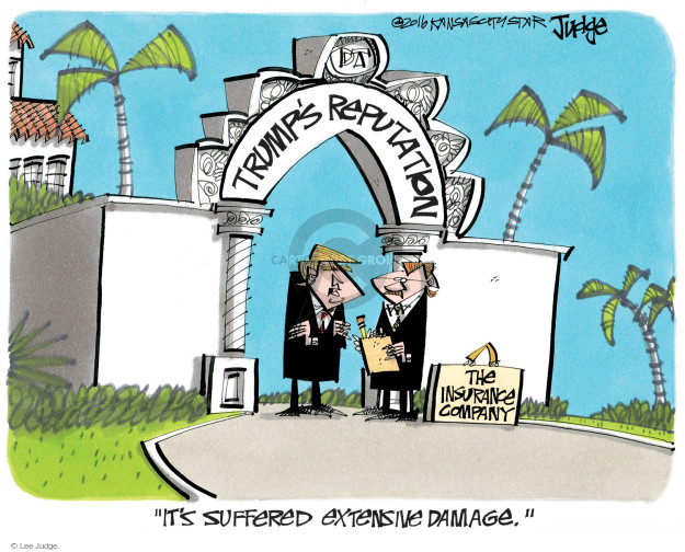 Lee Judge  Lee Judge's Editorial Cartoons 2016-10-26 presidential candidate