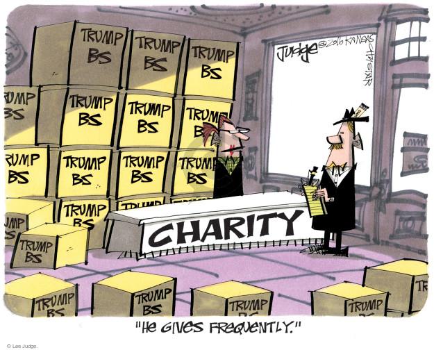 Lee Judge  Lee Judge's Editorial Cartoons 2016-11-03 presidential candidate