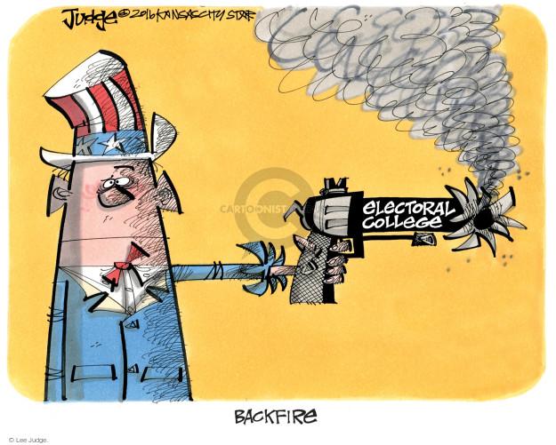 Lee Judge  Lee Judge's Editorial Cartoons 2016-10-11 voter