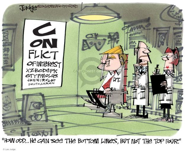 Lee Judge  Lee Judge's Editorial Cartoons 2016-11-29 blind