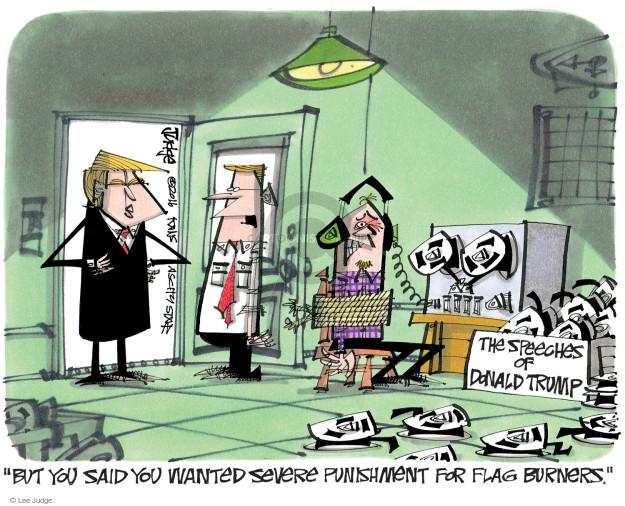 Lee Judge  Lee Judge's Editorial Cartoons 2016-12-01 campaign