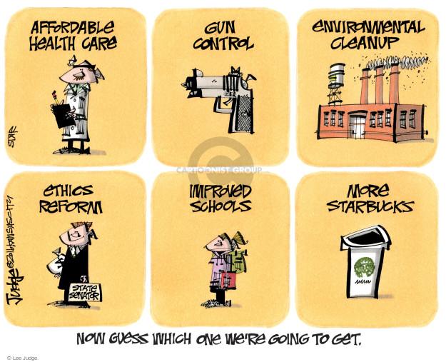 Cartoonist Lee Judge  Lee Judge's Editorial Cartoons 2016-12-13 control