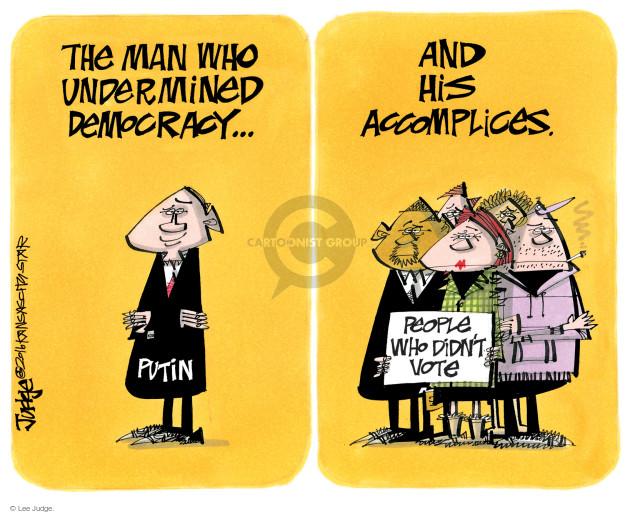 Lee Judge  Lee Judge's Editorial Cartoons 2016-12-20 vote