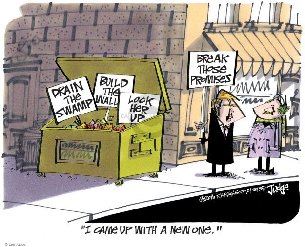 Lee Judge  Lee Judge's Editorial Cartoons 2016-12-23 build