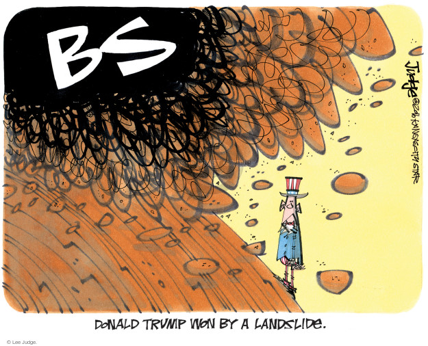 Lee Judge  Lee Judge's Editorial Cartoons 2016-12-24 vote