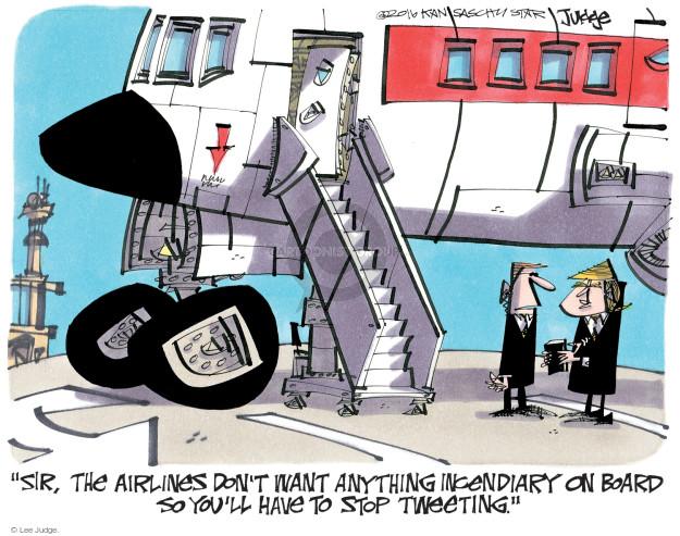 Lee Judge  Lee Judge's Editorial Cartoons 2016-12-29 political media