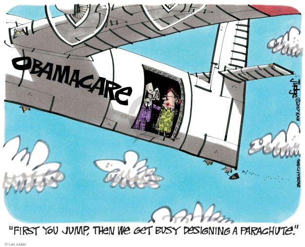 Cartoonist Lee Judge  Lee Judge's Editorial Cartoons 2017-01-12 congress health care