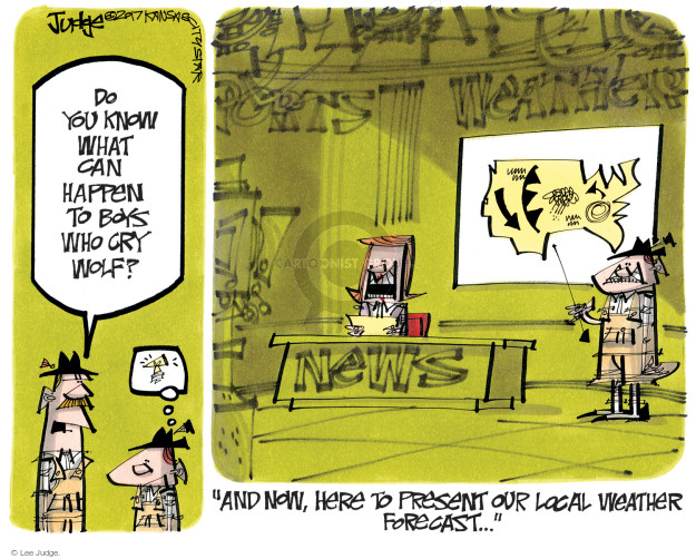 Lee Judge  Lee Judge's Editorial Cartoons 2017-01-19 political media