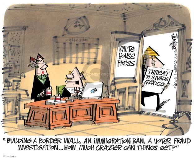 Lee Judge  Lee Judge's Editorial Cartoons 2017-02-02 voter fraud
