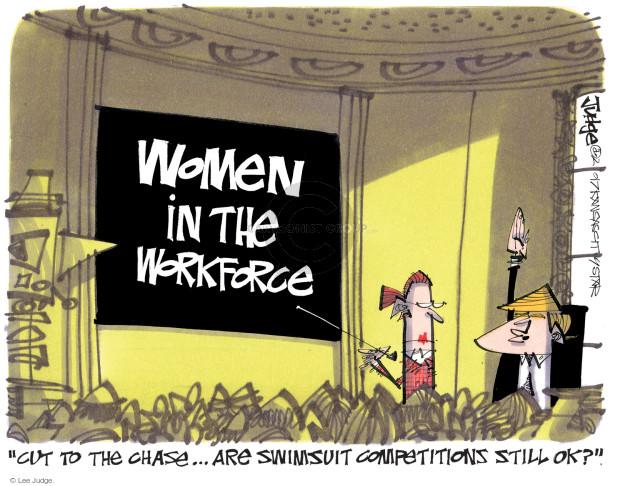 Cartoonist Lee Judge  Lee Judge's Editorial Cartoons 2017-02-14 rights