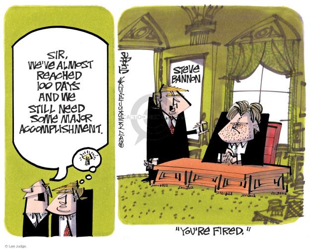 Lee Judge  Lee Judge's Editorial Cartoons 2017-04-25 Chief Justice