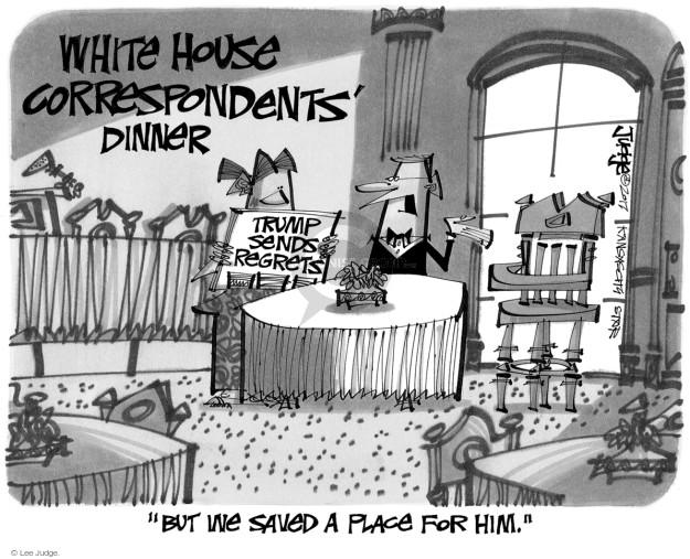 Lee Judge  Lee Judge's Editorial Cartoons 2017-04-28 journalism