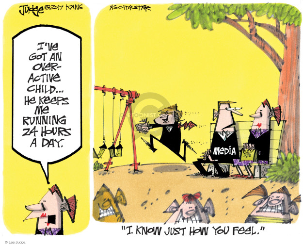 Lee Judge  Lee Judge's Editorial Cartoons 2017-05-17 24 hours