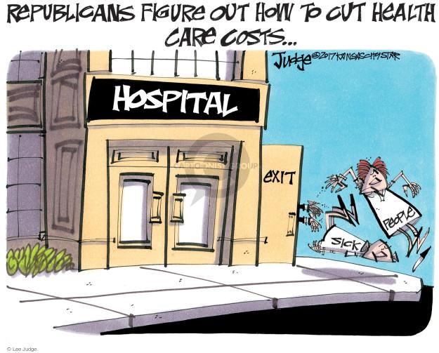 Cartoonist Lee Judge  Lee Judge's Editorial Cartoons 2017-05-26 congressional