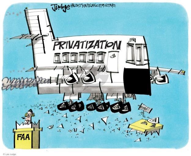 Cartoonist Lee Judge  Lee Judge's Editorial Cartoons 2017-06-07 civil