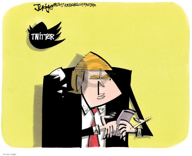 Lee Judge  Lee Judge's Editorial Cartoons 2017-06-08 political media