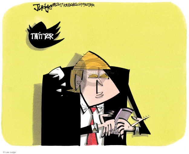 Lee Judge  Lee Judge's Editorial Cartoons 2017-06-08 media