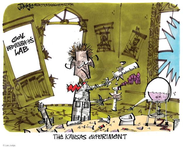 Cartoonist Lee Judge  Lee Judge's Editorial Cartoons 2017-06-11 tax