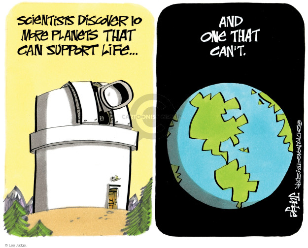 Lee Judge  Lee Judge's Editorial Cartoons 2017-06-24 astronomy