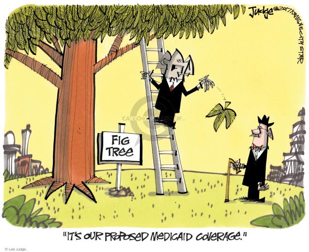 Cartoonist Lee Judge  Lee Judge's Editorial Cartoons 2017-06-29 GOP