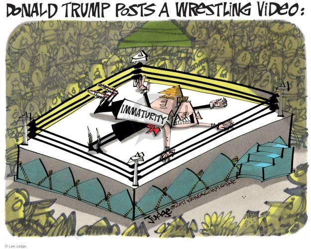 Lee Judge  Lee Judge's Editorial Cartoons 2017-07-04 media