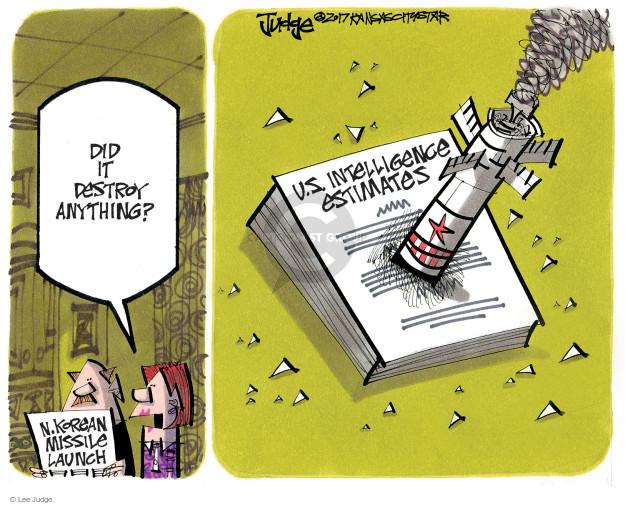 Lee Judge  Lee Judge's Editorial Cartoons 2017-07-09 destruction
