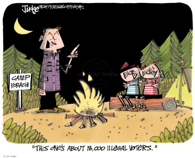Lee Judge  Lee Judge's Editorial Cartoons 2017-07-23 vote
