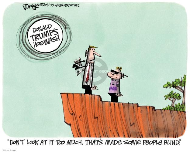 Lee Judge  Lee Judge's Editorial Cartoons 2017-08-20 blind