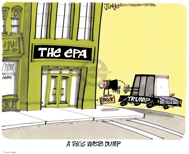 Lee Judge  Lee Judge's Editorial Cartoons 2017-10-24 Donald Trump