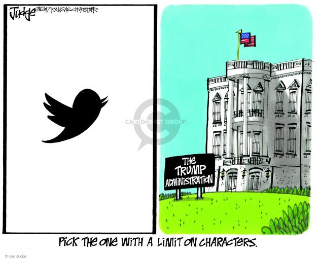Lee Judge  Lee Judge's Editorial Cartoons 2017-11-12 Donald Trump