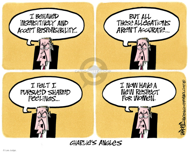 Lee Judge  Lee Judge's Editorial Cartoons 2017-11-22 media