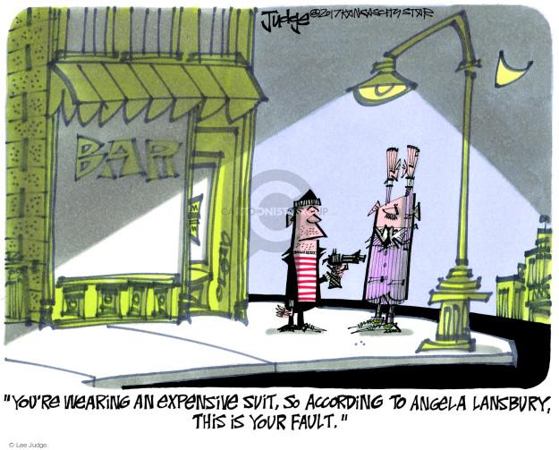 Cartoonist Lee Judge  Lee Judge's Editorial Cartoons 2017-11-30 charge
